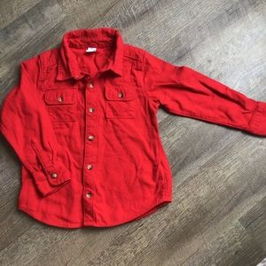 Old Navy size 5 flannel button up